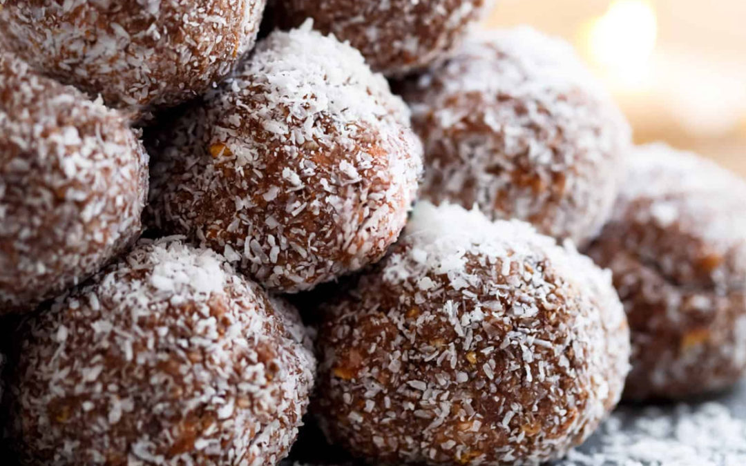 Dr Gerrie's High Protein Peanut Butter and Oatmeal Truffles